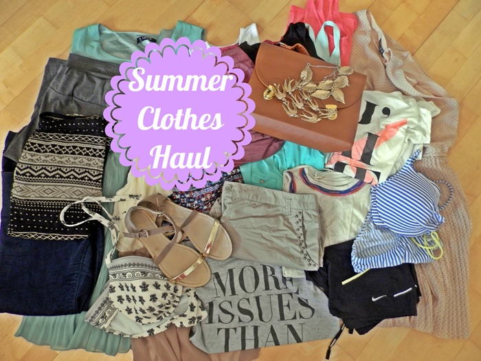 Clothing Haul On A College Budget