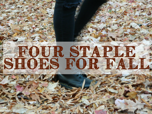 My Four Staple Shoes for Fall
